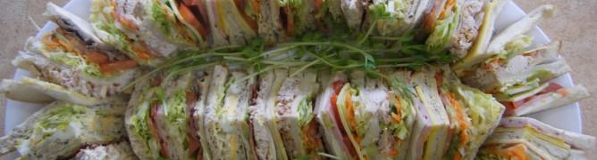 Mixed Sandwich Platter - Cougars Cafe and Catering